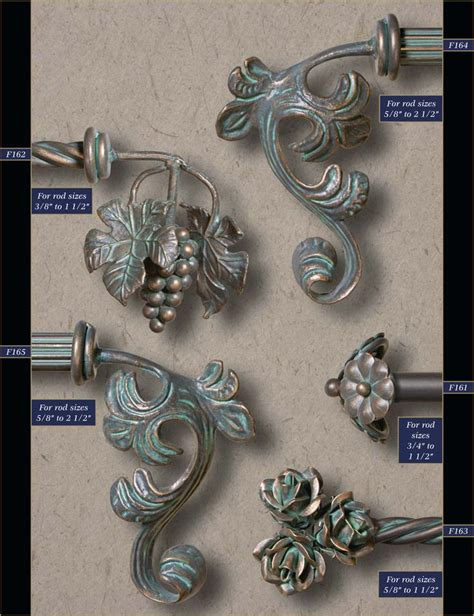 drapery hangers wholesale 21 best finials images on wrought iron