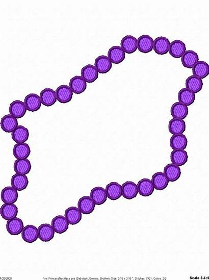 Necklace Clip Clipart Beads Jewelry Gras Mardi
