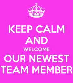 Welcome Our Newest Team Member