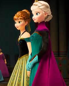 Anna and Elsa Frozen Coronation