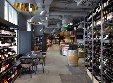 amazing supermarket  vienna commercial interior design