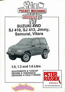 Suzuki Samurai Vitara Jimny Shop Manual Service Repair