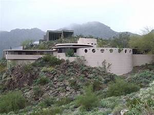 Norman Lykes Home in Phoenix by Frank Lloyd Wright