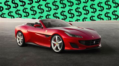 $3 per gallon at 15mpg average = $4,000 over 5 years. 10 Ferrari Portofino Options You'd Be Crazy To Pay For
