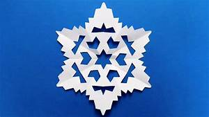 Paper Snowflake  Easy Tutorial  Make Snowflakes Out Of