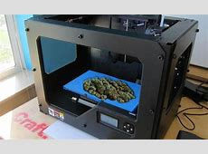 A 3D cannabis printer Is this the future, or is it April 1?