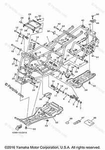 Yamaha Atv 2006 Oem Parts Diagram For Frame