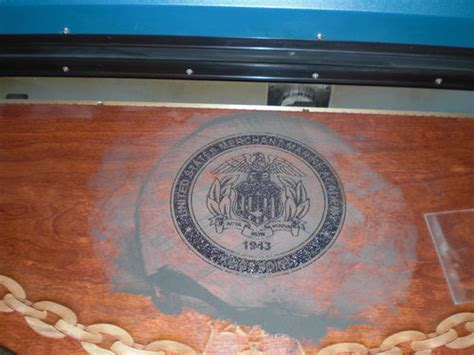 Laser Engraved Table Top #1