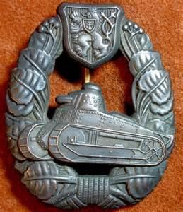 WW2 German Tank Badge