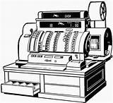 Cash Register Clipart Coloring Clip Cliparts Library Computer Etc Cashregister Usf Edu Pages Don Medium 1919 sketch template