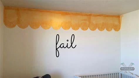 Painted Wall Border Ideas Awesome 5 Fun For Sponge