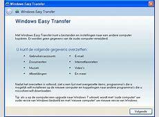 Bestanden, mail en andere gegevens overzetten van Windows