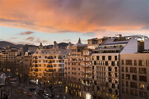 hotel luxe chambre hôtel 4 étoiles dans le centre ville de barcelone hôtel