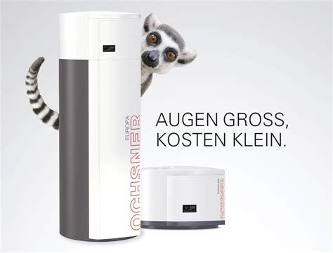 mini wärmepumpe kaufen warmwasser w 228 rmepumpen ochsner w 228 rmepumpen deutschland