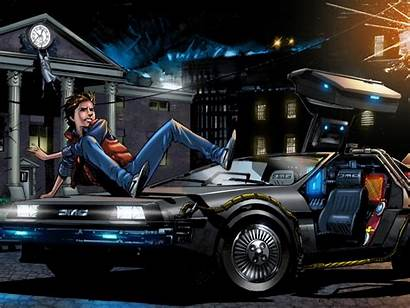 Dmc Future Delorean Marty Mcfly 1freewallpapers Definition