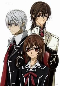 Kaname, Zero and Yuki - Vampire Knight Artbooks ...