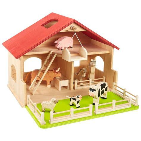 spielzeug selber bauen holz spielzeug bauernhof oder krippe spielzeug accessoires kinderwelt sortiment die zeit