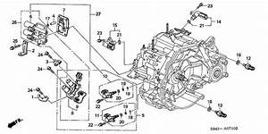 2000 Honda Accord 2nd Clutch Pressure Switch Location