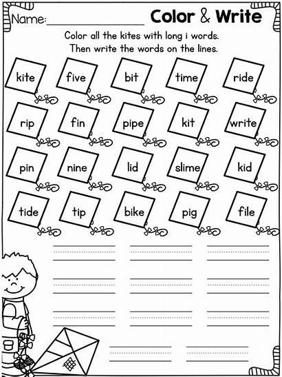 Worksheets Vowel Kindergarten Short Phonics Cvce Words