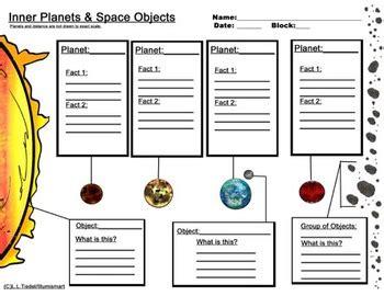 inner and outer planet worksheets bonus 4 clip