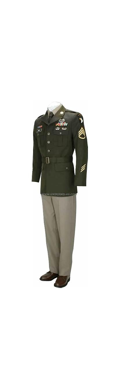 Agsu Army Uniform Enlisted Male Uniforms Wear