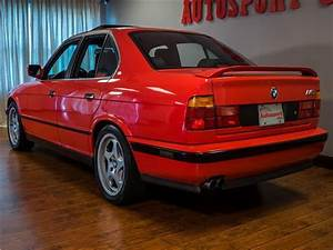 1991 Bmw 5 Series M5 Brilliant Red Straight 6 Cylinder