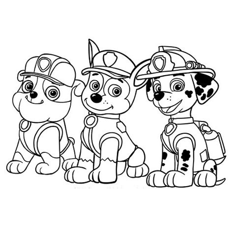 patrolne šape bojanka za decu sa stikerima