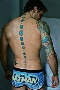 Spine Tattoos for Men - Ideas and Designs for Guys