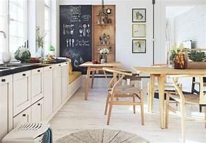 appartement avec deco nordique par image box studio With idee deco cuisine avec mobilier design scandinave