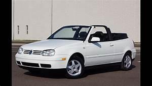 2000 Vw Cabrio Gls Convertible