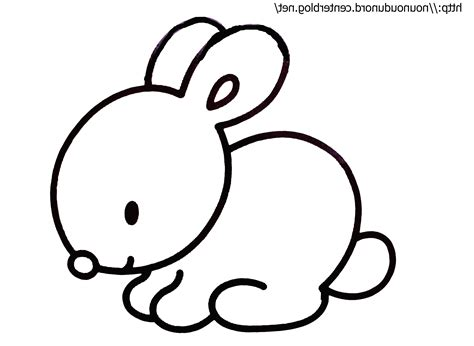 Dessin Lapin Simple Mexicaindessin Download Avec Dessin