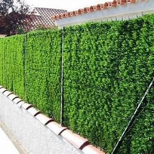 Haie Naturelle Brise Vue : brise vue vegetal haie naturelle brise vue idmaison ~ Premium-room.com Idées de Décoration