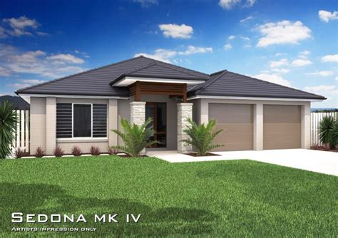 tullipan home designs  sedona mkiv downslope hip