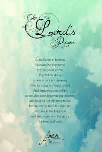 Lord's Prayer Words