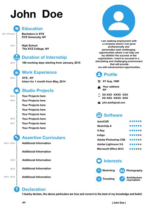 How To Make Resume Attractive by Design A Attractive Resume For You Fiverr