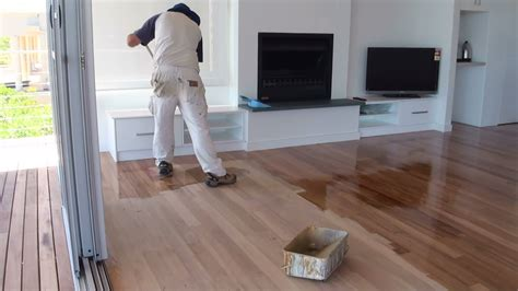 polyurethane for wood floors how to paint a wood floor paint or apply clear