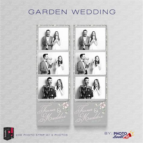 wedding photo booth template garden wedding for darkroom booth photo booth talk