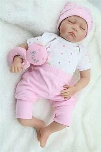 aliexpresscom buy 55cm silicone reborn babies dolls closed eyes sleeping newborn baby With best reborn baby dolls