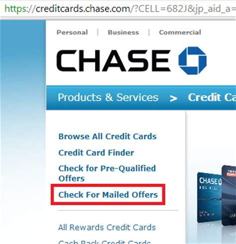 Chase is only responsible for posting the statement credit to your credit card account, based on. View Your Chase Pre-Qualified Credit Cards - Doctor Of Credit