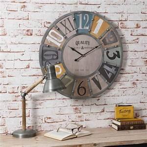 Maison Du Monde Horloge Murale : maison du monde horloge pendule stickoo ~ Teatrodelosmanantiales.com Idées de Décoration