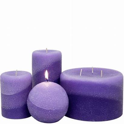 Pillar Lavender Scented Candles Candle Shades Desert