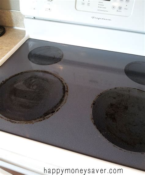 cleaning stove top the thrifty lazy way to clean your glass stovetop happy money saver