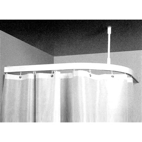 Curtain Rod Bunnings by Zone Hardware 1 X 1m Shower Curtain Corner Bend Track