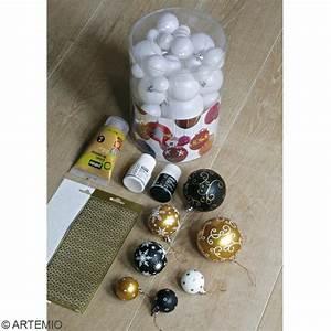 Boule De Noel A Fabriquer : tuto fabriquer des boules de no l id es et conseils ~ Nature-et-papiers.com Idées de Décoration