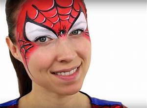 Maquillage Enfant Facile : maquillage spiderman tutoriel truccabimbi pinterest ~ Melissatoandfro.com Idées de Décoration
