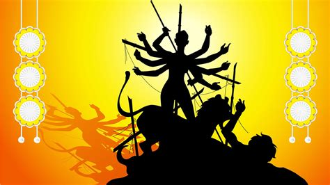 Maa Durga Animated Wallpaper For Desktop - maa durga tapeter downloadwallpaper org