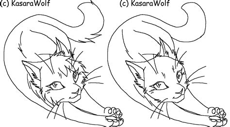 warrior cat template warrior cats kits free coloring pages