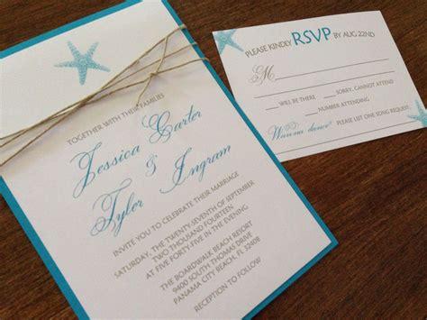 Beach Wedding Invitation Sets