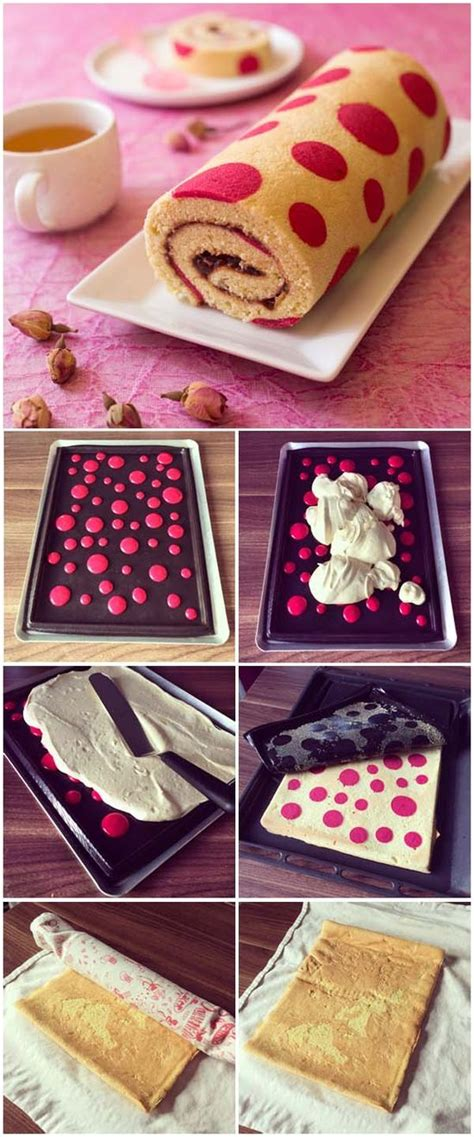 cuisine girly gâteau roulé très girly cooking tips roll cakes desserts and strawberry mousse cake