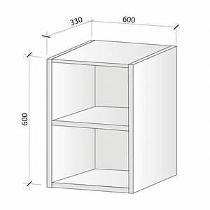 Hauteur Micro Onde : caisson haut micro onde hauteur 624 mm foussier quincaillerie ~ Melissatoandfro.com Idées de Décoration